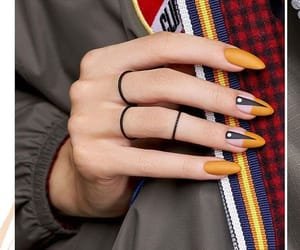 nails, beautiful, and style image