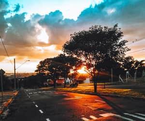 nature, paisagem, and sun image