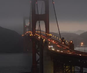 san francisco, bridge, and golden gate bridge image