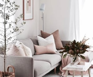 couch, decor, and decoration image