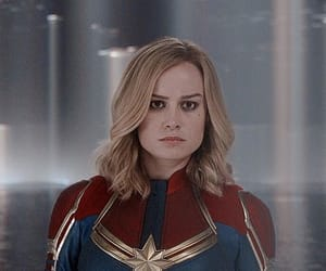 Marvel, brie larson, and captain marvel image