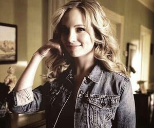 candice accola, the vampire diaries, and caroline forbes image
