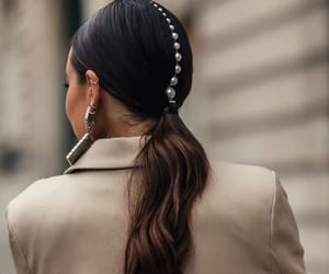 accessories, pearls, and chic image