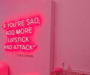 pink, aesthetic, and coco chanel image