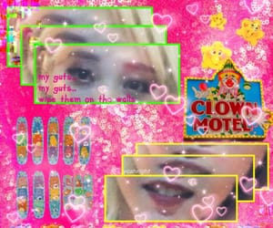 clown, pink, and kpoprp image
