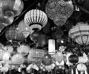 black white, light, and marrakech image