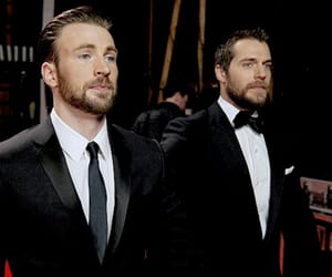 chris evans, Henry Cavill, and captain america image