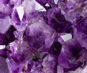 aesthetic, amethyst, and crystals image