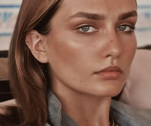 beauty, editorial, and face image