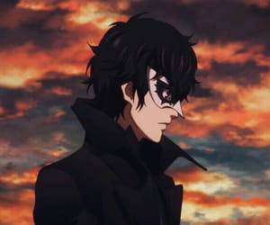 anime, persona5, and persona 5 the animation image