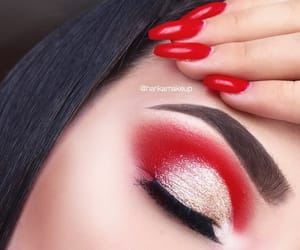 beautiful, girl, and glam image