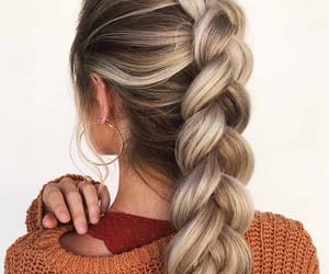 blond hair and hair image