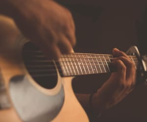guitar, music, and talent image