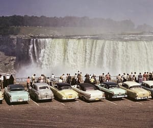 vintage, car, and niagara falls image
