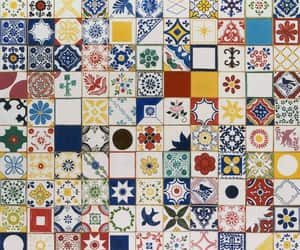 art, artist, and azulejos image