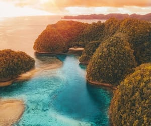 adventure, ocean, and travel image