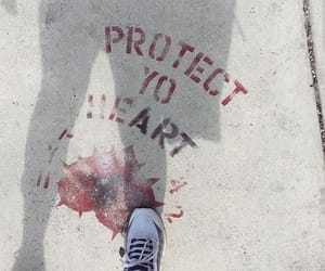 graffiti, heart, and sneakers image