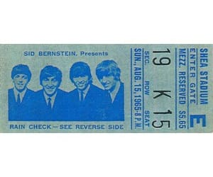 blue and the beatles image