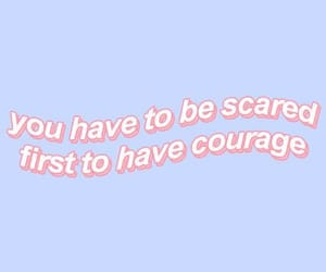 courage, pink, and aesthetic image