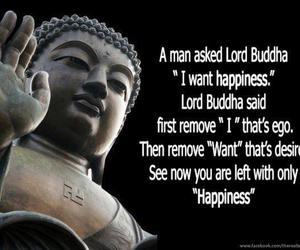 Buddha, quote, and happiness image