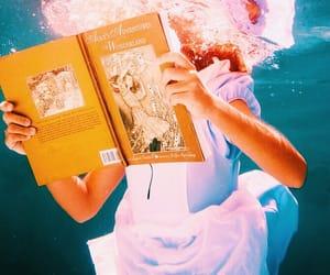 book, ocean, and water image
