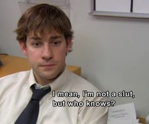 comedy, funny, and the office image