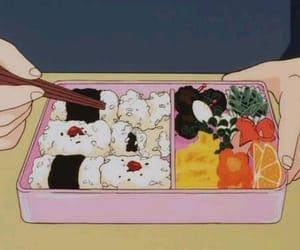anime, food, and sushi image