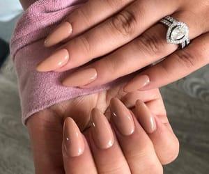 acrylics, diamonds, and nails image
