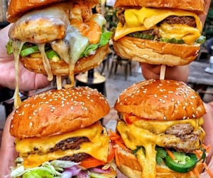 delicious, food, and burger image