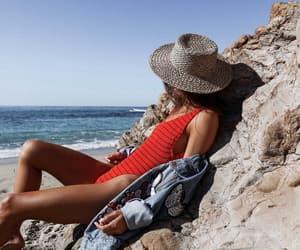 beach, billabong, and blogger image