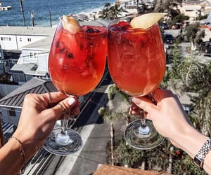 beach, cheers, and Cocktails image