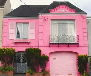 Houses, pink, and sanfran image