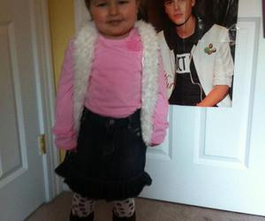 avalanna and justin bieber image
