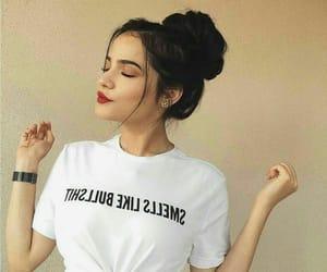 girl, fashion, and beauty image