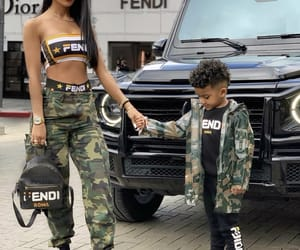 fashion, girls, and fendi image