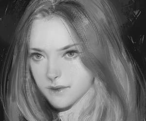amanda seyfried, drawing, and portrait image