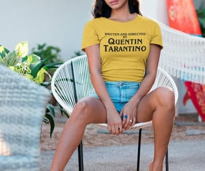 etsy, quentin tarantino, and yellow shirt image