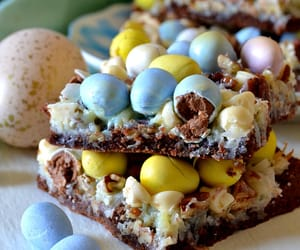 chocolate, desserts, and easter image