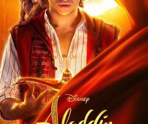 aladdin, disney, and póster image