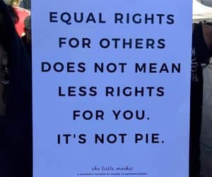 rights, equality, and feminism image