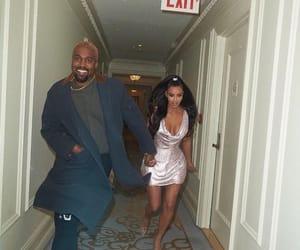 kim kardashian, kanye west, and kardashian image