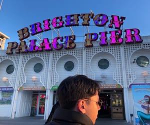 brighton, pier, and spring image