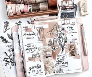 decorate, journaling, and pink image