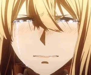 gif, sadness, and violet evergarden image