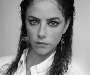 KAYA SCODELARIO, skins, and black and white image