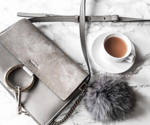 bag, coffee, and fashion image