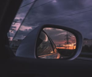 sky, aesthetic, and car image