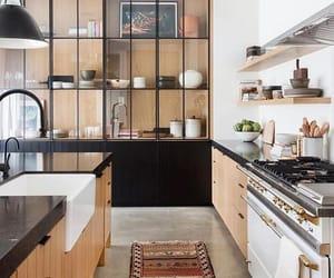kitchen, decor, and decoration image