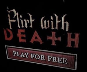death, emo, and goth image