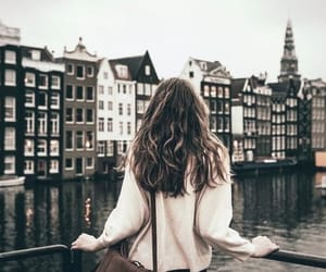 city, travel, and amsterdam image